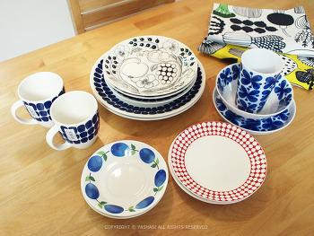 북유럽 여행의 수확물, 그릇과 패브릭