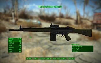[폴아웃4 모드]HK G3 Battle Rifle(라이플)