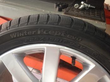 제타 2.0 윈터 타이어 교체 후기 - 한국타이어 I*CEPT  EVO