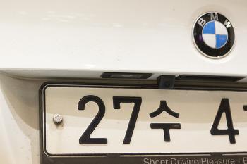 BMW 320D E90 + 터치 네비게이션 + 미러링크 + 후방카메라 + 하이패스 + HUD