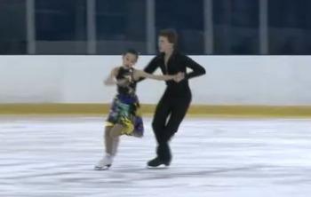 꿈나무 아이스 댄서들, 캐나다 섬머 대회에서 날다