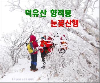 [전북산] 무주 덕유산 향적봉 설천봉 눈꽃산행코스 (곤돌라 요금 운행시간)