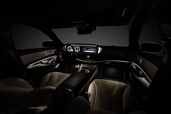 Benz 2013 W222 S Class spy shots