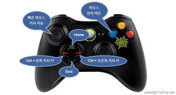 마우스 대신 게임 패드로 인터넷 하기 - JoyToKey