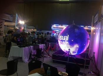 LED Tech Korea 2013 전시회 부스 비디오클립