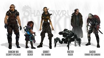 Shadowrun Hong Kong Extended Edition 공략 정리