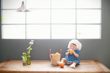 대전 베이비 촬영, 봄 바람처럼 내츄럴한 아기사진 촬영