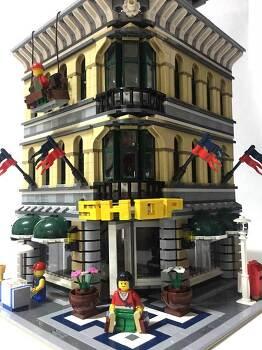 레고 모듈러 10211 백화점 리뷰 및 스톱모션 영상