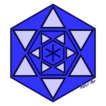 LOVE 바인드룬 만다라 Mandala(히란야) 문양 3