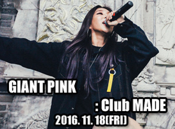 2016. 11. 18 (FRI) GIANT PINK @ MADE