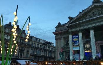 Brussels, 프랑크푸르트에서 브뤼셀, 크리스마스 마켓, 맛저녁:)