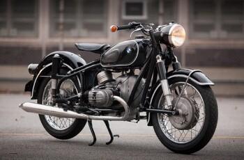 레고 창작 BMW 1967 R60/2 오토바이 MOC ★