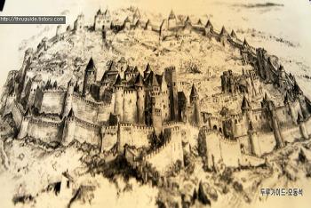 남프랑스 카르카손(Carcassonne) #2 - 작고 이쁜 성내(城內)도시
