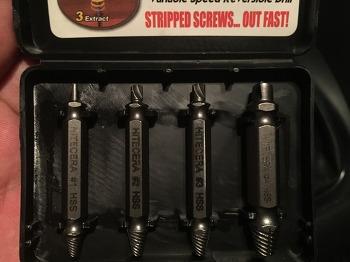 뭉개진 나사, 빠가난 나사 푸는 방법 (히다리탭 + screw extractor + Broken Bolt + 망가진 나사 풀기 + 나사 야마)