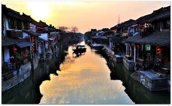 중국 서당 고진 일몰일출 2ㅡ15