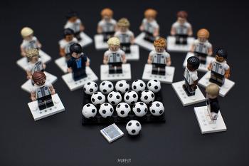 레고 독일 국가대표 축구팀 미니피규어