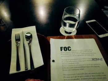 Singapore, 미슐랭 셰프의 스페니시 레스토랑 FOC Restaurant