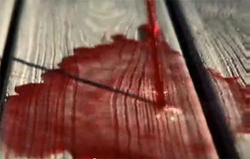 합성목재 데크에 레드와인을 엎질렀을 때 자국없이 지우는 방법