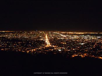 샌프란시스코, 바람이 분다~ 속이뻥뚫리는 트윈픽스 야경