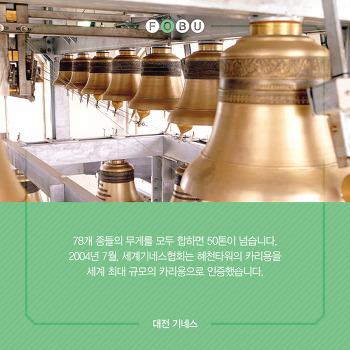 대전기네스북(24)천상의 음악 카리용