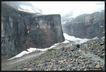 밴프 국립공원, 여섯 빙하 평원(Plain of Six Glaciers)