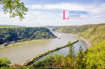 독일의 아름다운 풍경이 있는 곳 - 로렐라이 언덕