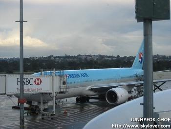 호주를 떠나며 - 대한항공 KE812 (KE122) 기내
