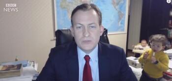 로버트 켈리 교수 BBC 사고 영상