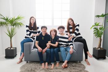 [대전 가족사진촬영] 따스한 행복이 느껴지던 가족촬영