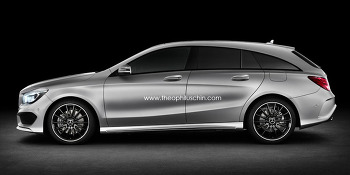 Benz CLA Shooting Brake