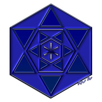 LOVE 바인드룬 만다라 Mandala(히란야) 문양 4