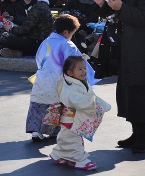 일본인, 설날 그리고 기모노