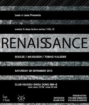 [LNL] Renaissance vol.12 at club Keu Keu
