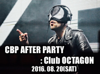 2016. 08. 20 (SAT) CASS OFFICIAL AFRERPARTY @ OCTAGON