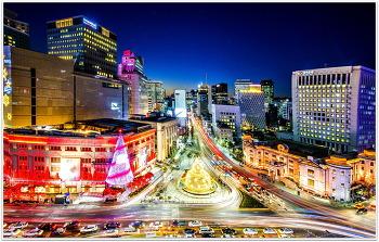 서울 야경 12ㅡ29