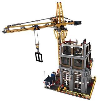 레고 창작 (MOC) 모듈러 'Modular Construction Site' 리뷰