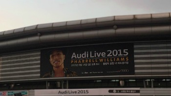 퍼렐 윌리엄스 내한공연에 다녀와서 (Audi Live 2015)