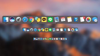 mac Dock(독) 사이즈 설정 하기