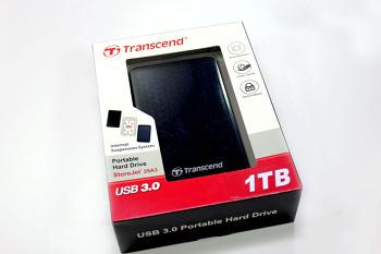 [체험단] 3중 충격 흡수로 안전한 외장하드! 트랜센드 Store-Jet 25A3 USB3.0