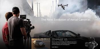 [DJI] 인스파이어 마이크로 포서드급 Zenmuse X5/X5R 2종 출시
