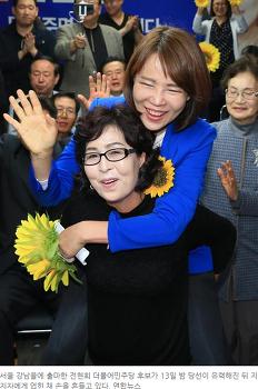 강남을 전현희 후보가 승리한 이유들, 선거구 조정, 서울 민심 새누리당 공천 심판