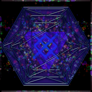 무한행운(Good Luck)의 바인드룬 (bind rune) 만다라(Mandala) 문양 31d1