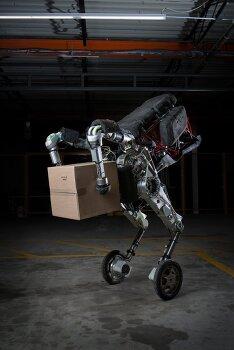 사람처럼 화물을 하역하는 보스턴 다이내믹스의  물류용 로봇 핸들(Handle)