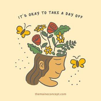 <하루 휴가 내다> 영어로 : take a day off