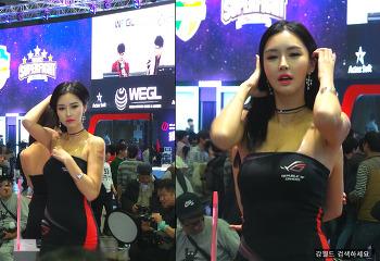 지스타2017 ROG 모델 여신 영상 사진 제작  2/2 (G-STAR 2017 Republic Of Gamer model)