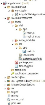 angular 웹개발 (ecplise, spring boot, typescript) - #2