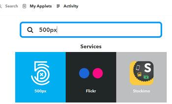500px.com 사진을 스마트폰으로 자동으로 매일 매일 받아보는 방법