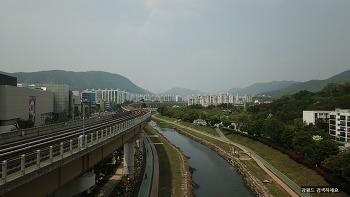 매빅 프로 드론 연습 및 김해 봉황역 해반천 항공 촬영하다