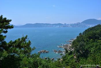 [부산여행] 푸른 바다를 배경으로 펼쳐진 그림같은 풍광, 영도 하늘전망대