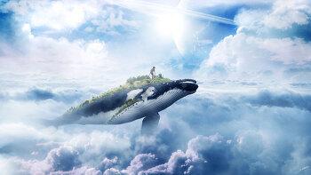 포토샵 강좌 고래 (Photoshop Manipulation Tutorial Whale)